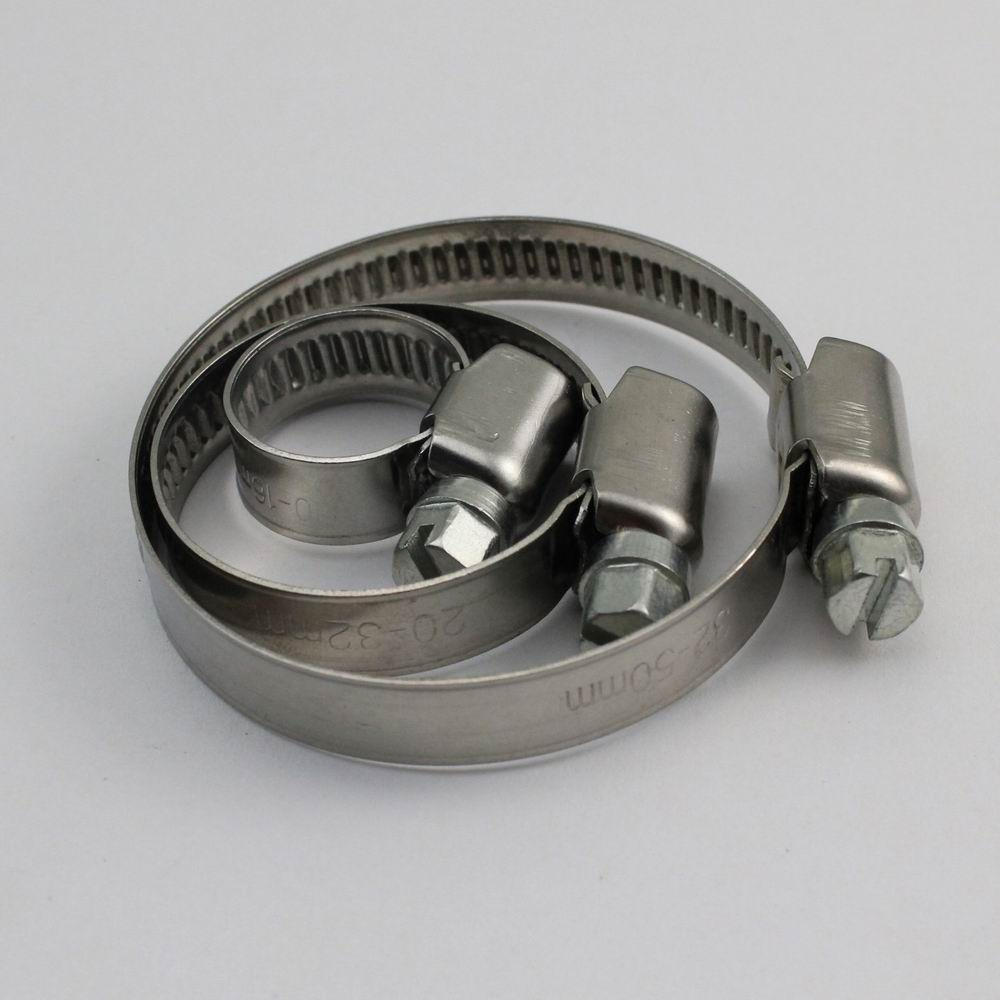 9mm Band German Type Hose Clamps